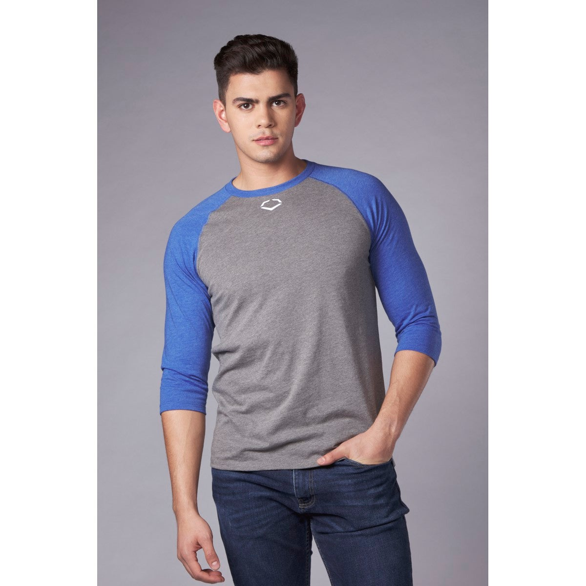 Men's Heather Mid Sleeve