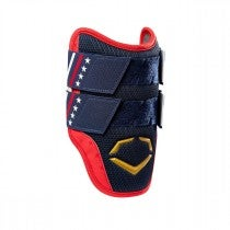 X-SRZ USA Flag Batter's Double Strap Elbow Guard