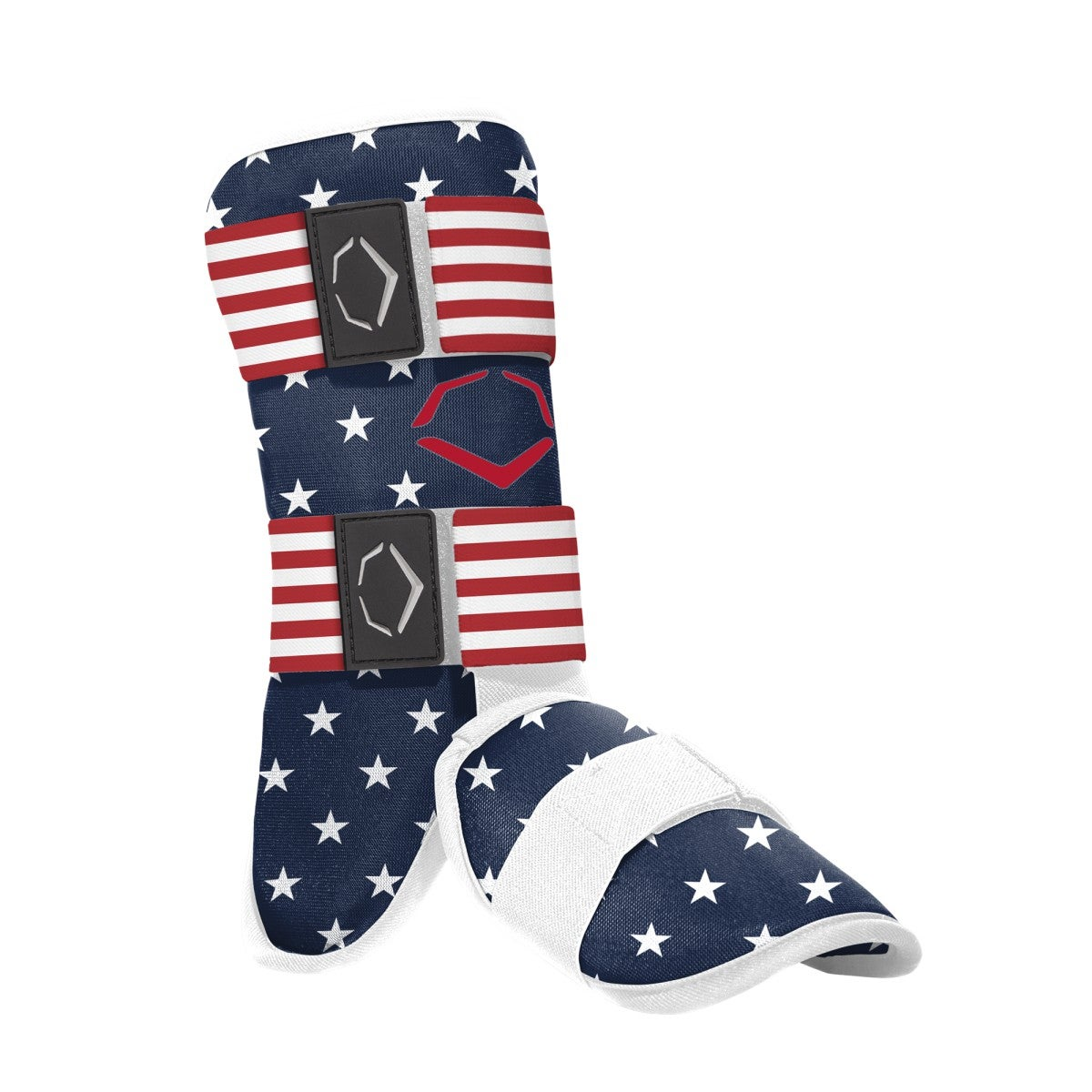 EvoX Limited Edition Red, White and Blue Batter's Leg Guard